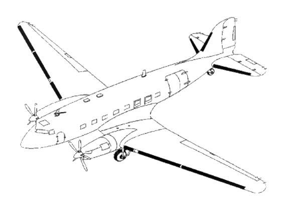 Douglas Dc 3 Conversion Details